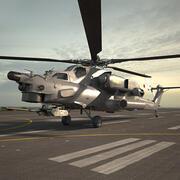 Mil Mi-28 3d model
