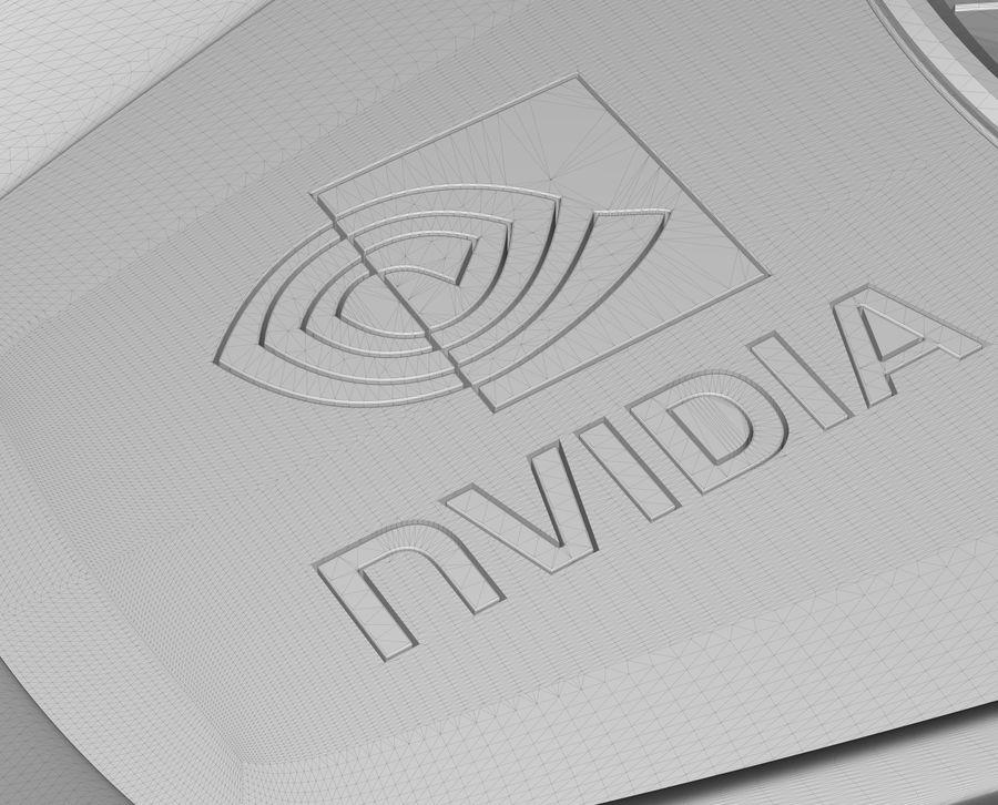 Tarjeta gráfica nvidia royalty-free modelo 3d - Preview no. 17