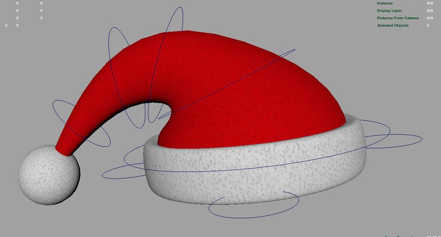 リギングクリスマスハット royalty-free 3d model - Preview no. 5