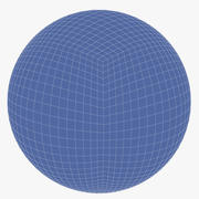 Quad Sphere 3d model