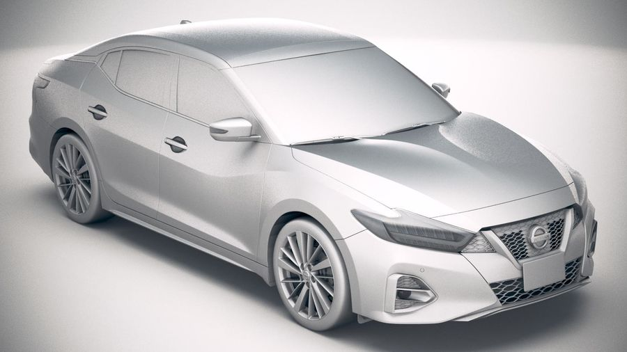 Nissan Maxima 2019 royalty-free 3d model - Preview no. 22