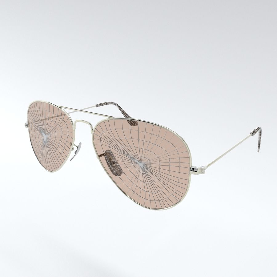 Glasses royalty-free 3d model - Preview no. 11