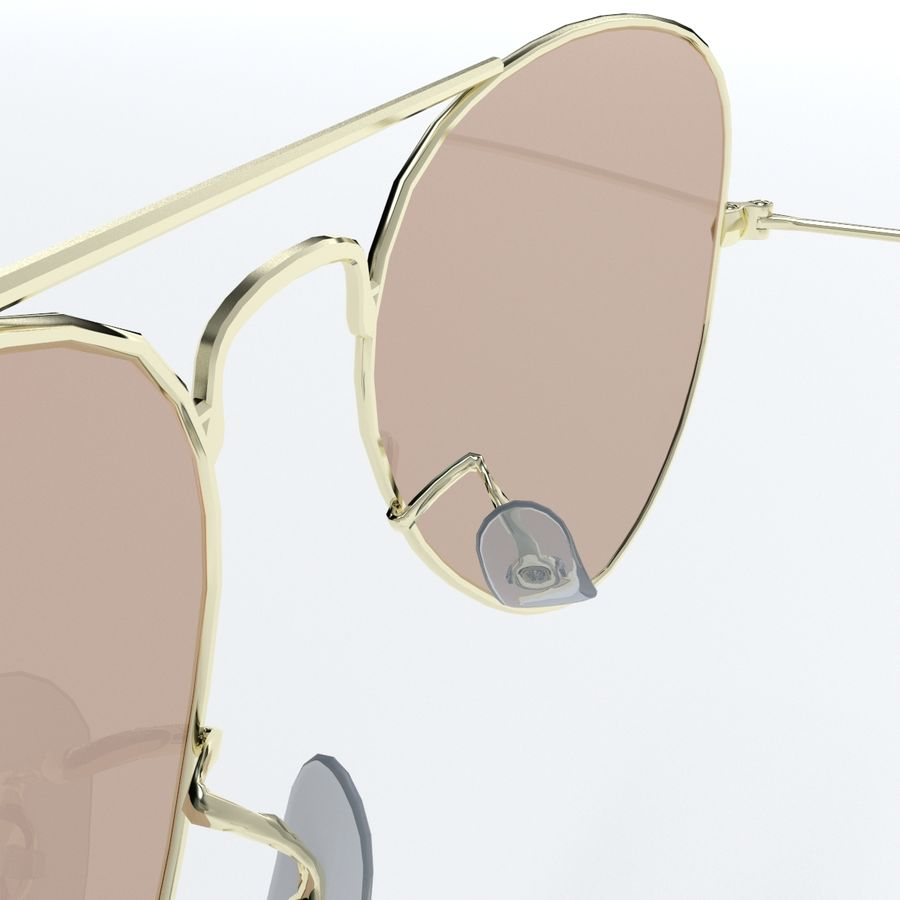 Glasses royalty-free 3d model - Preview no. 13