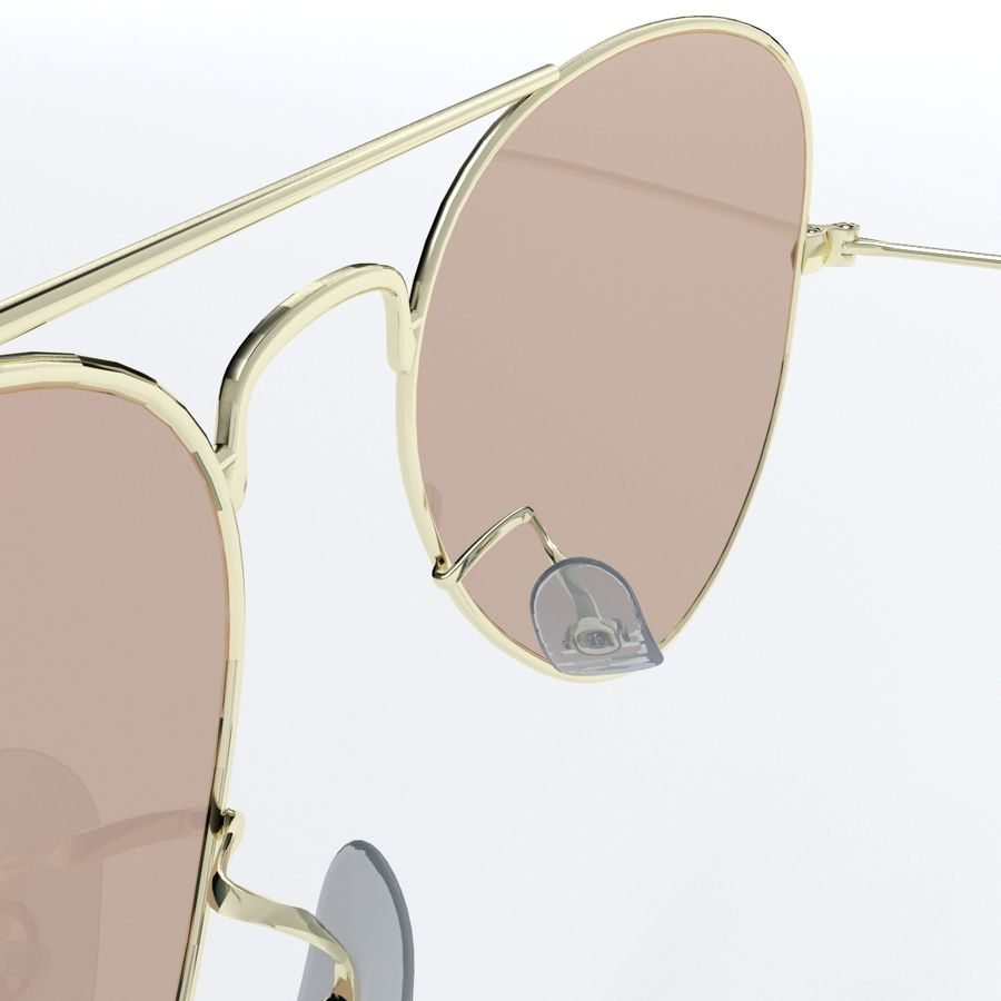 Glasses royalty-free 3d model - Preview no. 5
