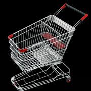 winkelwagen 3d model