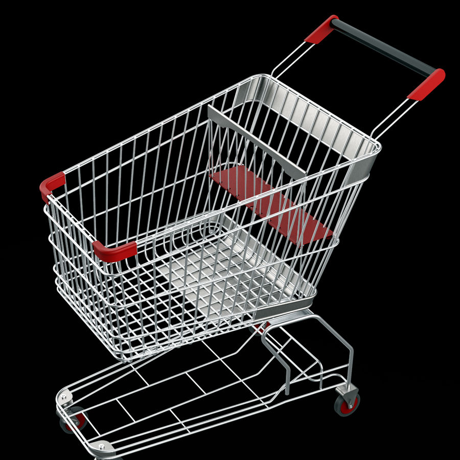 shopping_cart royalty-free 3d model - Preview no. 1