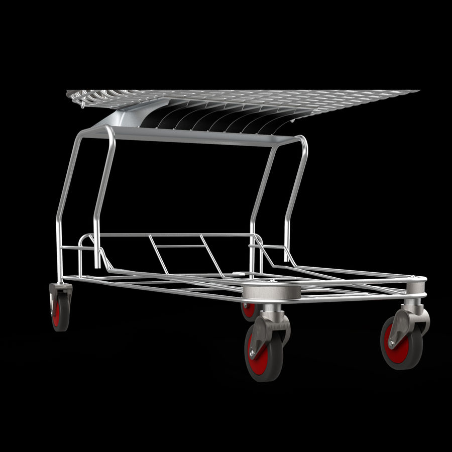 shopping_cart royalty-free 3d model - Preview no. 4