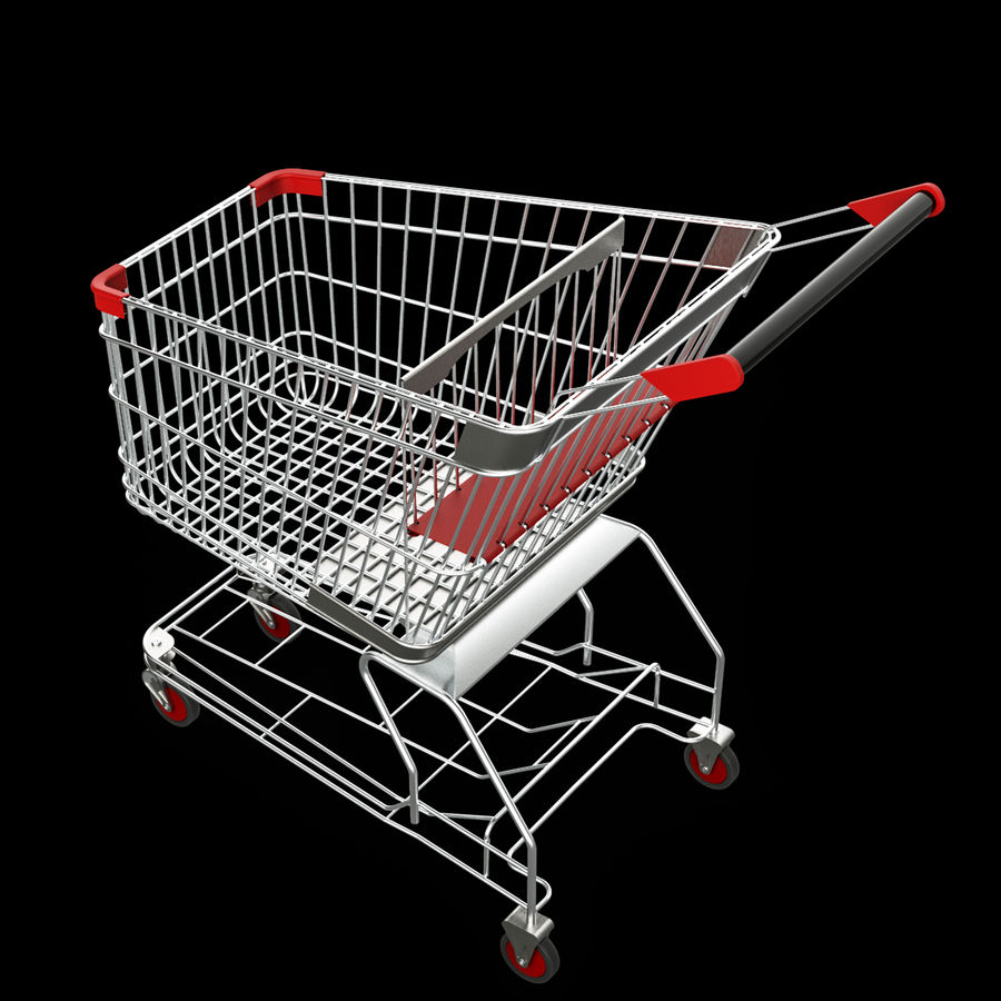 shopping_cart royalty-free 3d model - Preview no. 2