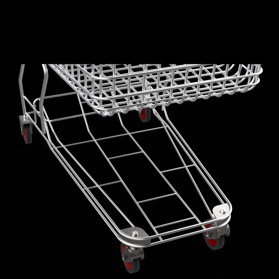 shopping_cart royalty-free 3d model - Preview no. 5