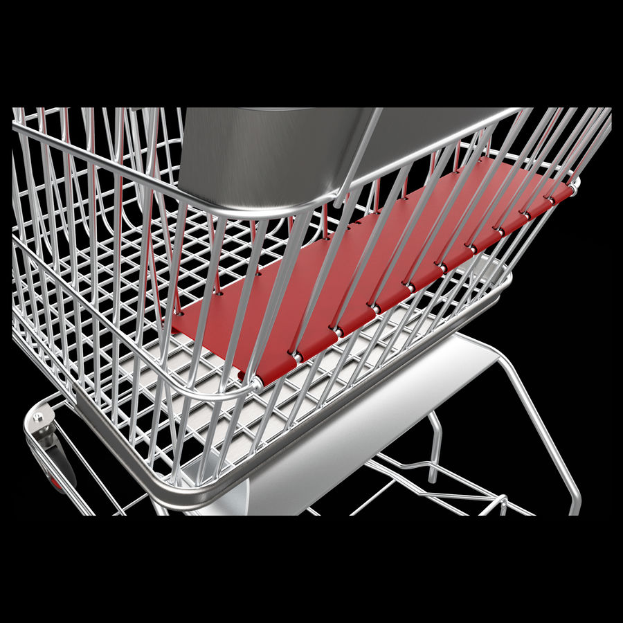 shopping_cart royalty-free 3d model - Preview no. 8