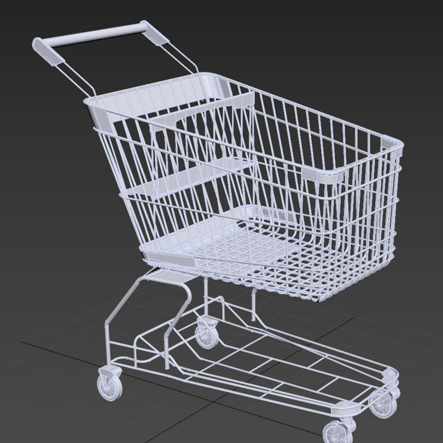 shopping_cart royalty-free 3d model - Preview no. 10
