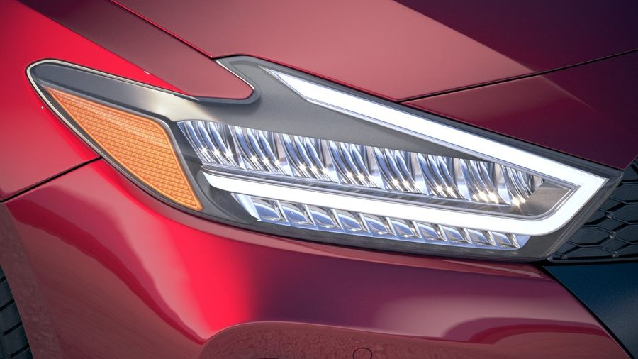 Nissan Maxima 2019 royalty-free 3d model - Preview no. 16