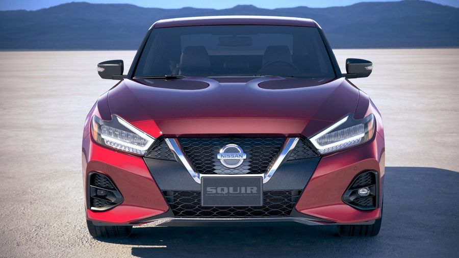 Nissan Maxima 2019 royalty-free 3d model - Preview no. 10