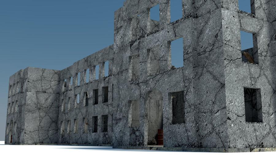 被遗弃的建筑物-室内 royalty-free 3d model - Preview no. 2