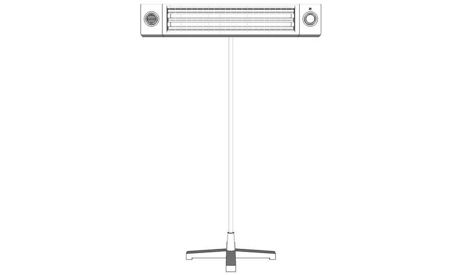 Chauffe-eau royalty-free 3d model - Preview no. 11