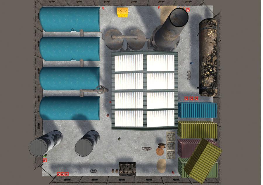 工业3D道具 royalty-free 3d model - Preview no. 3