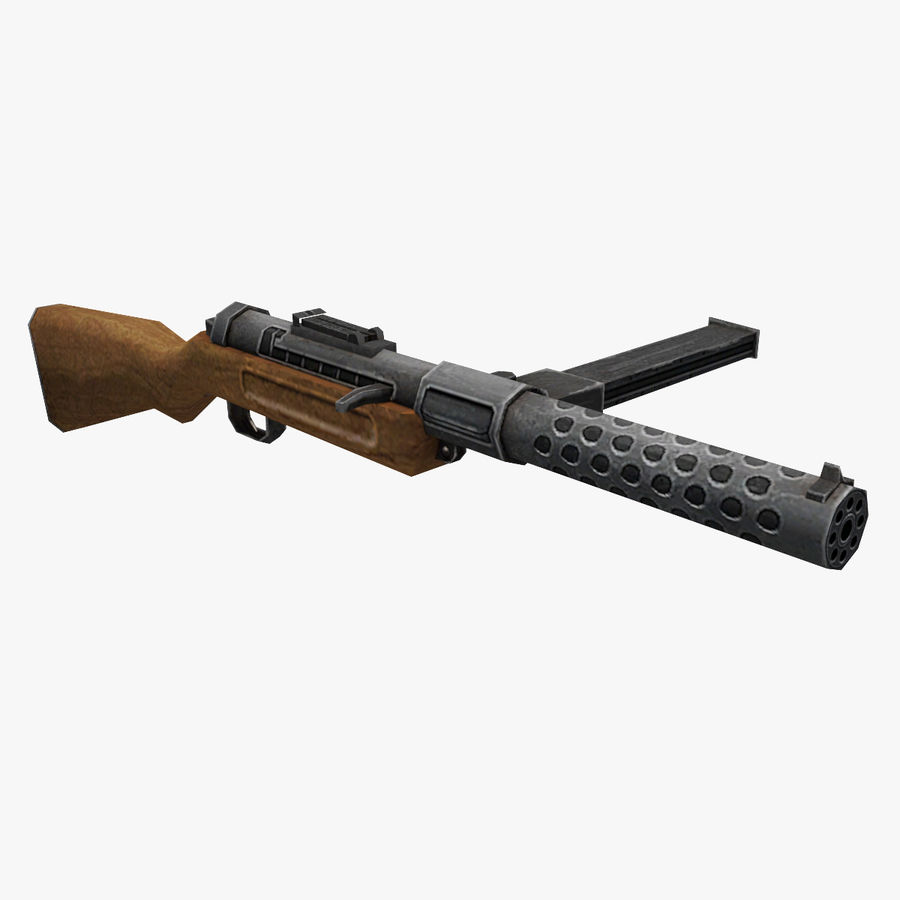 MP28 royalty-free 3d model - Preview no. 1