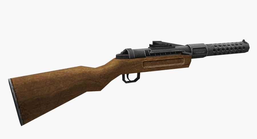 MP28 royalty-free 3d model - Preview no. 3