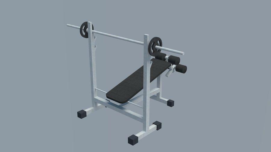 Equipos de gimnasio royalty-free modelo 3d - Preview no. 17