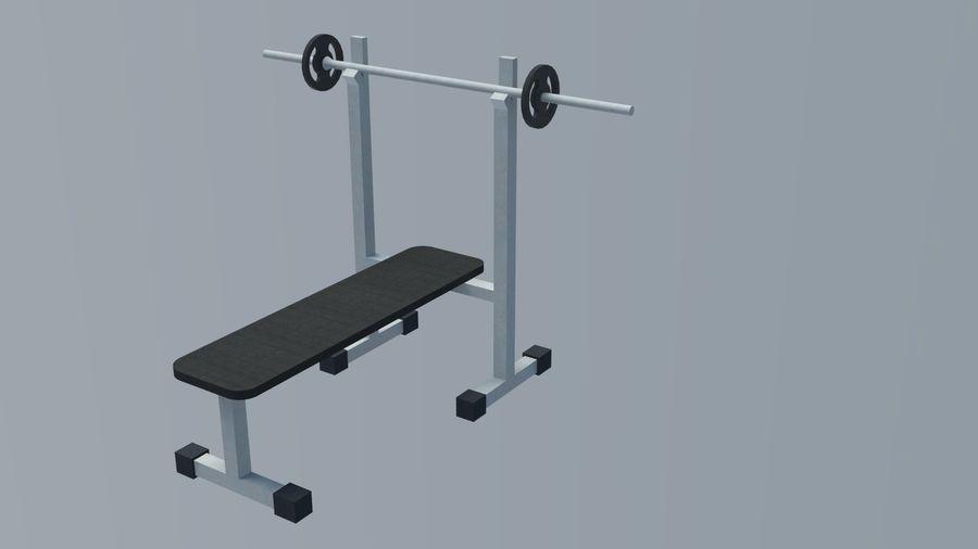 Equipos de gimnasio royalty-free modelo 3d - Preview no. 22