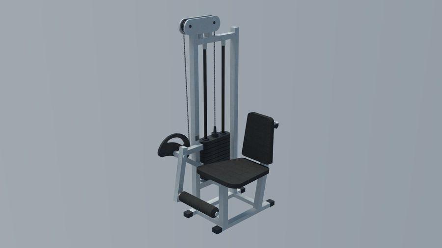 Equipos de gimnasio royalty-free modelo 3d - Preview no. 8