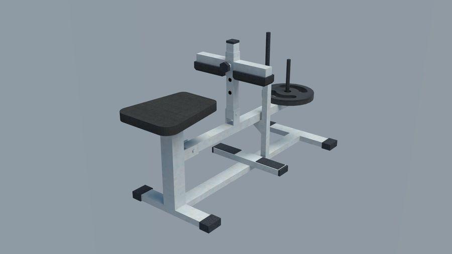 Equipos de gimnasio royalty-free modelo 3d - Preview no. 5