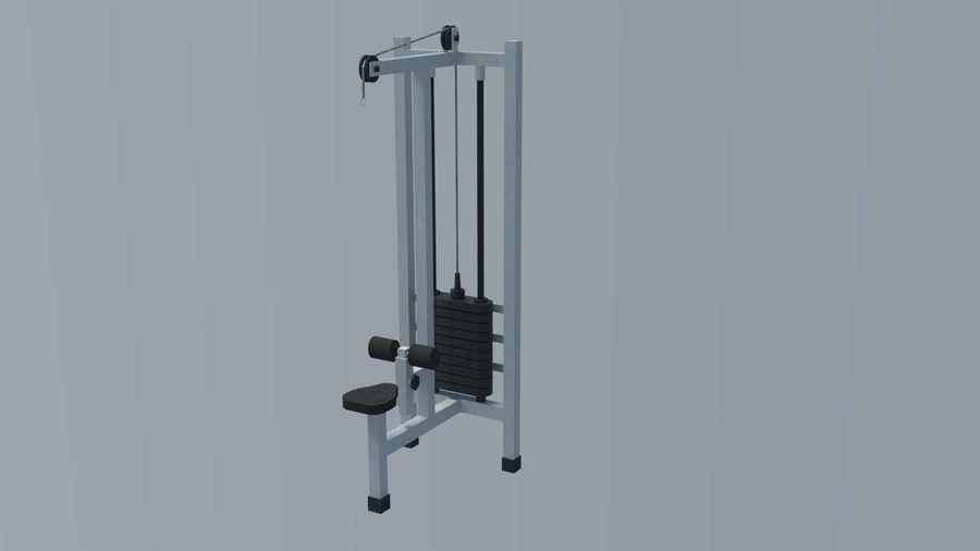 Equipos de gimnasio royalty-free modelo 3d - Preview no. 14