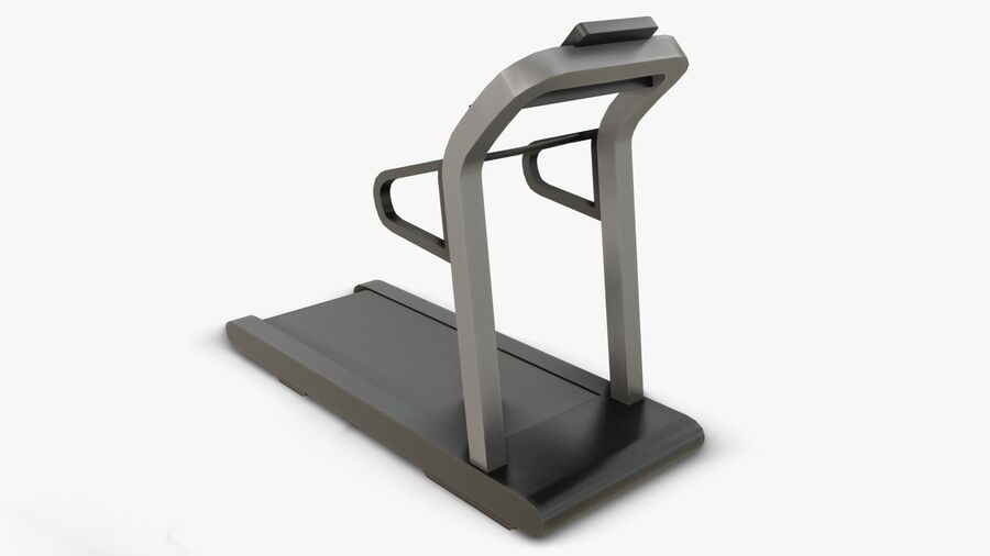 Gym Equipments royalty-free 3d model - Preview no. 3