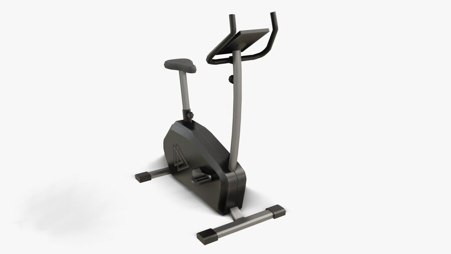 Gym Equipments royalty-free 3d model - Preview no. 6