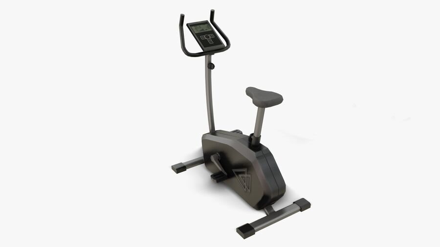 Gym Equipments royalty-free 3d model - Preview no. 7