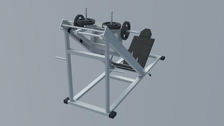 Equipos de gimnasio royalty-free modelo 3d - Preview no. 4