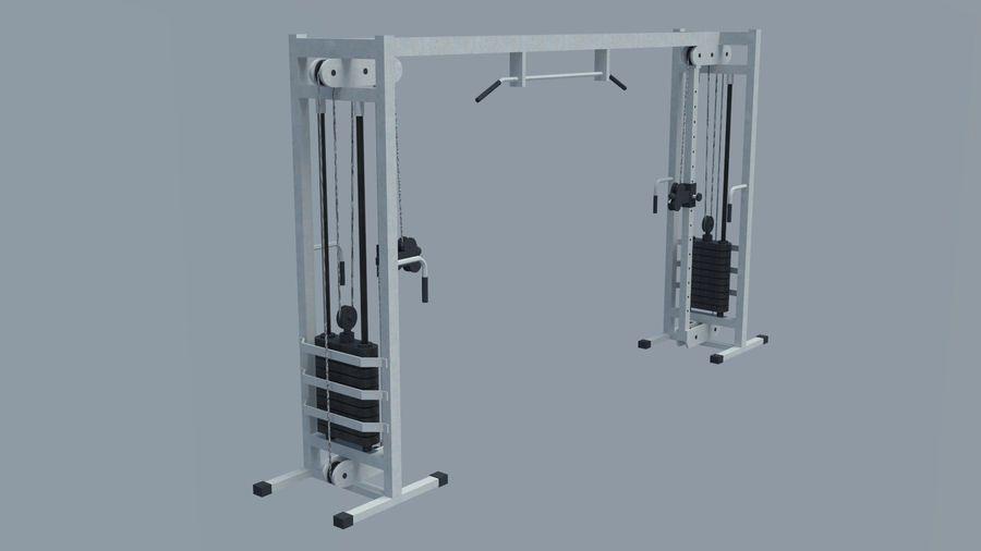 Equipos de gimnasio royalty-free modelo 3d - Preview no. 9