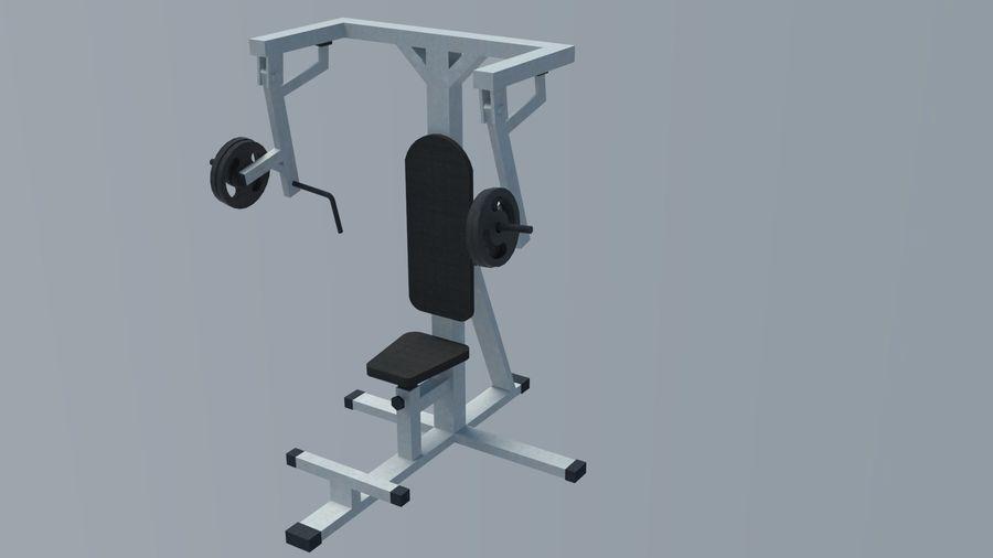 Equipos de gimnasio royalty-free modelo 3d - Preview no. 12