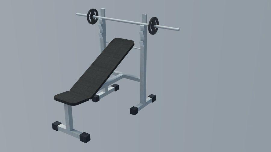 Equipos de gimnasio royalty-free modelo 3d - Preview no. 20