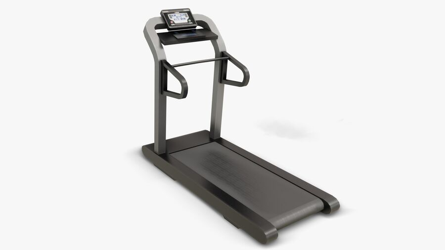 Gym Equipments royalty-free 3d model - Preview no. 2