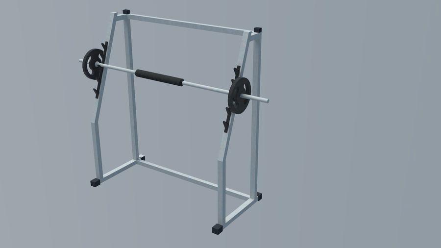 Equipos de gimnasio royalty-free modelo 3d - Preview no. 16