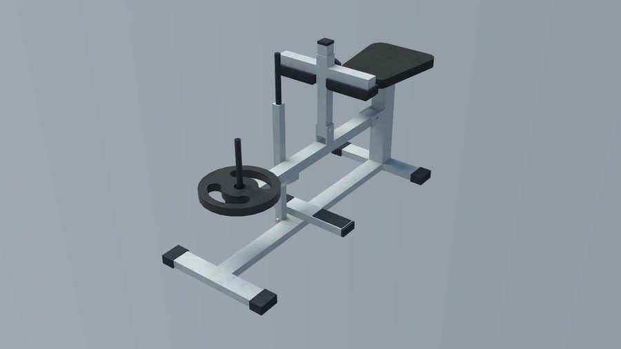 Equipos de gimnasio royalty-free modelo 3d - Preview no. 6