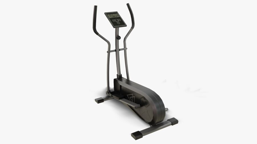 Gym Equipments royalty-free 3d model - Preview no. 5