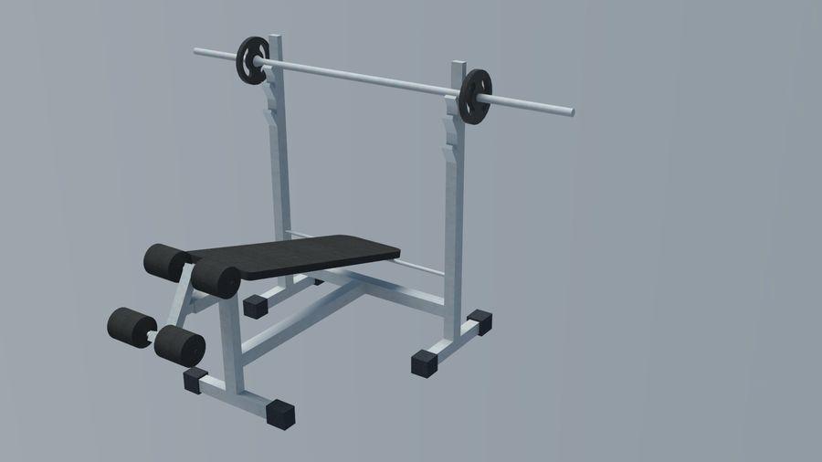 Equipos de gimnasio royalty-free modelo 3d - Preview no. 18