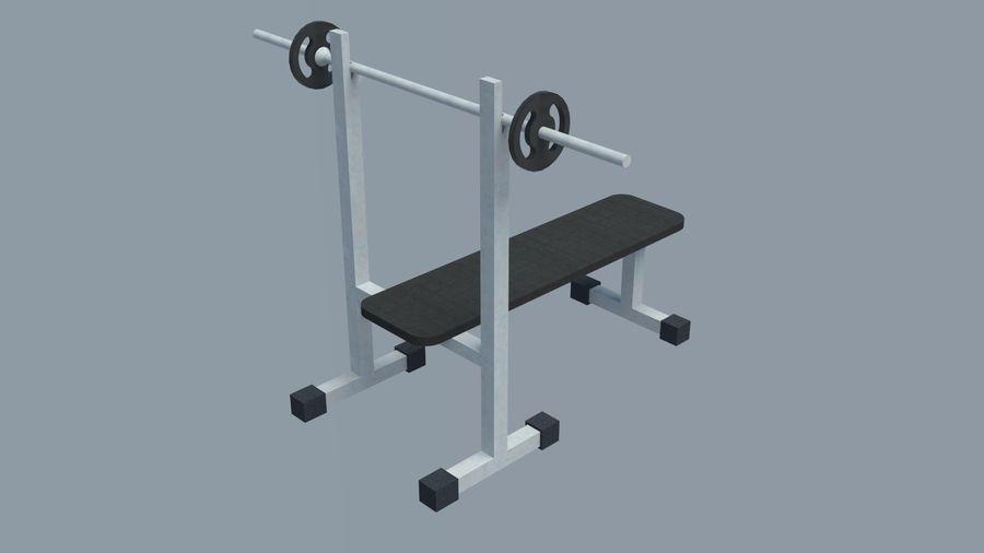 Equipos de gimnasio royalty-free modelo 3d - Preview no. 21