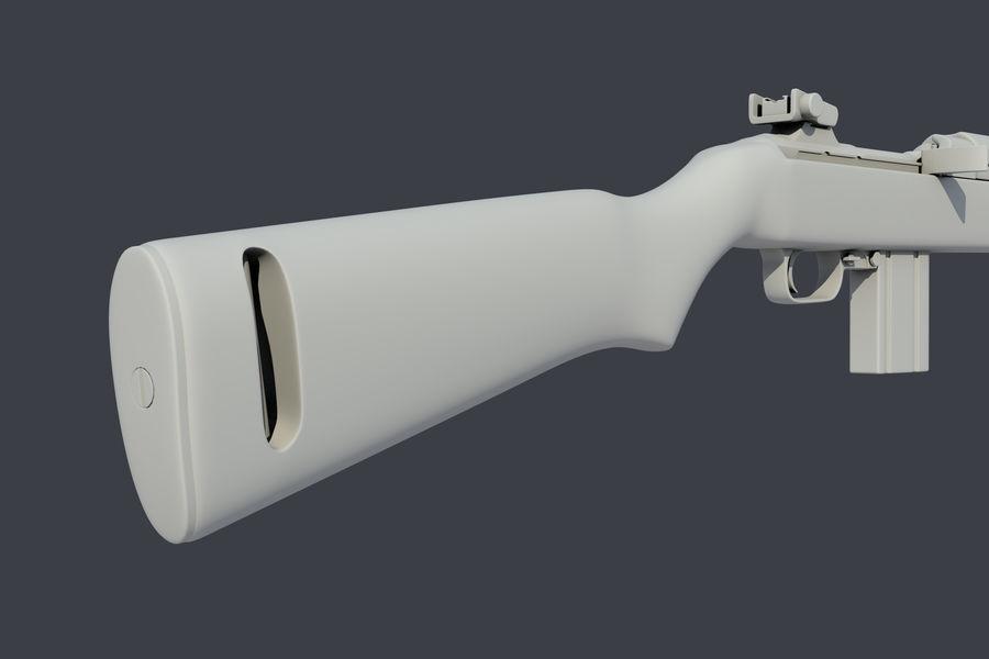 Karabinek M1 royalty-free 3d model - Preview no. 7