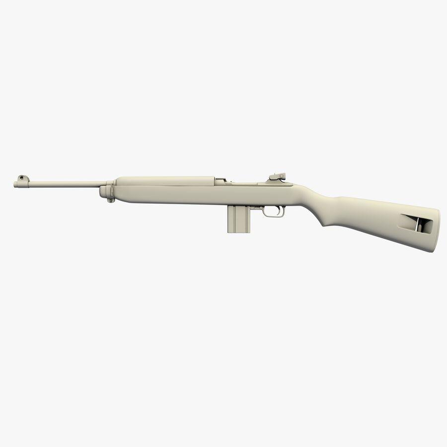 Karabinek M1 royalty-free 3d model - Preview no. 1