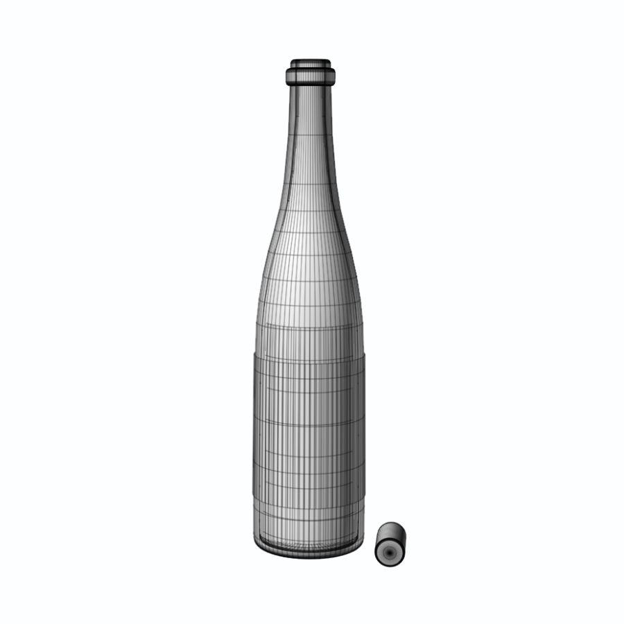 ワインボトル royalty-free 3d model - Preview no. 5