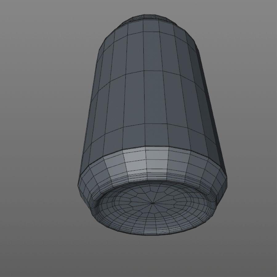 aluminium can royalty-free 3d model - Preview no. 9