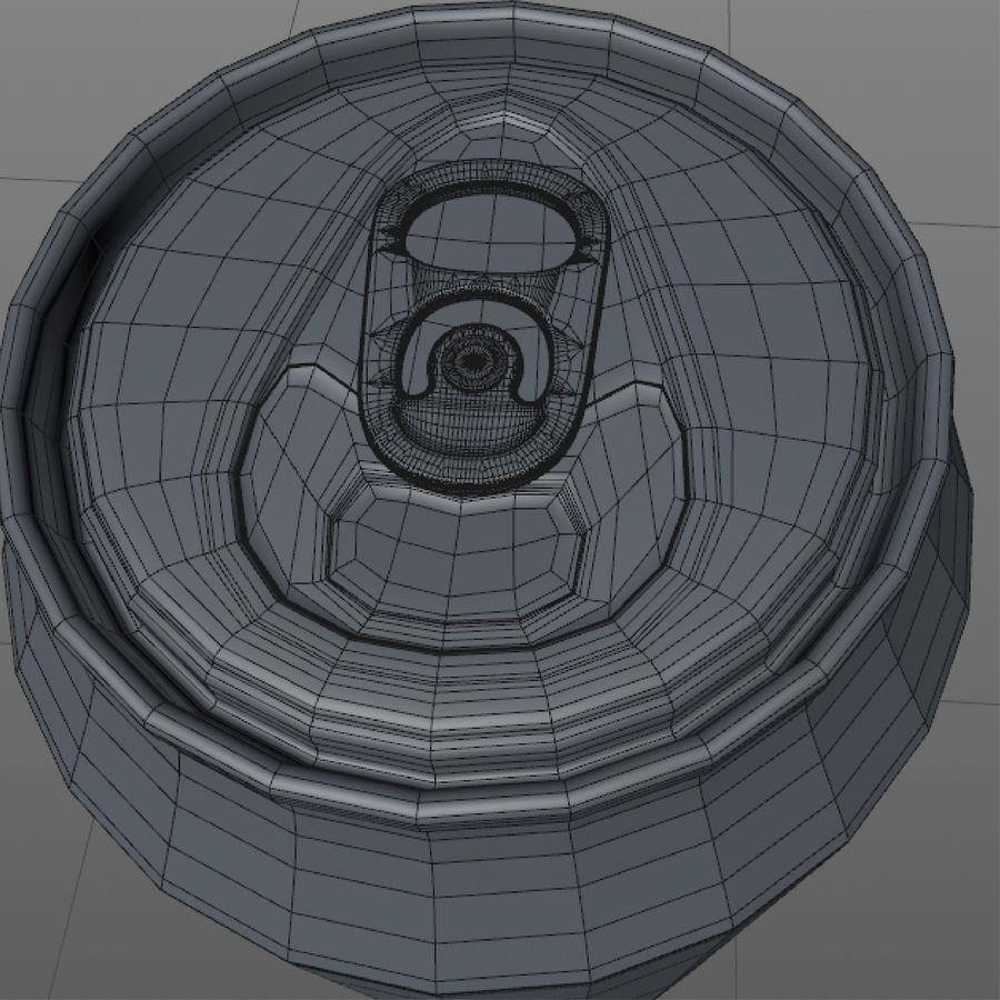 aluminium can royalty-free 3d model - Preview no. 10