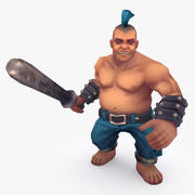 Animated Rigged Character Type C 3d model