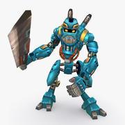 Animasyonlu Arma Robot B Tipi 3d model