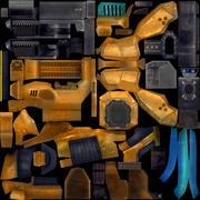 D型动画索具机器人 3d model