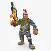 Personaggio animato di tipo I 3d model