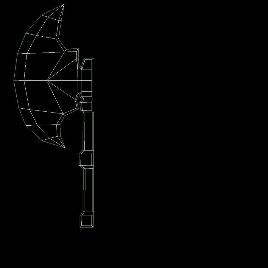 Animierte manipulierte Kreatur Typ D royalty-free 3d model - Preview no. 17